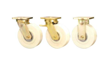 ABLP Forged Precision Bearing Castors with MCNY Series Cast Polyamide Wheels